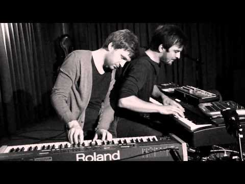 lafur Arnalds & Nils Frahm live improvisation at Roter Salon - Volksbhne Berlin