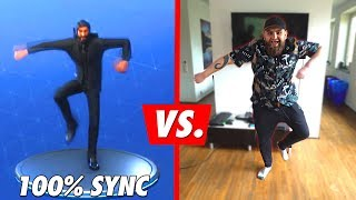 FORTNITE 100% Sync Dance-Challenge (+Bestrafung)