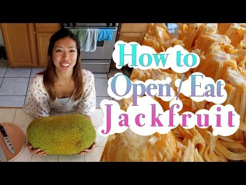 How to Open / Eat a Jackfruit