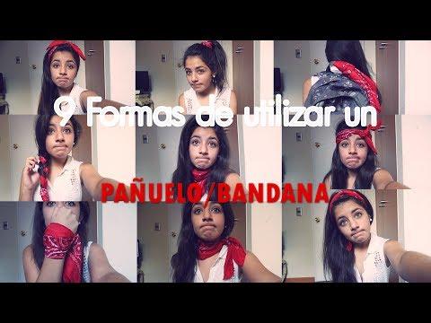 9 Maneras de usar un pañuelo/bandana♡♥