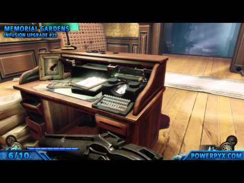 Bioshock Infinite - Chapter 32 - All Collectible Locations (Voxophones. Upgrades. Sightseer)