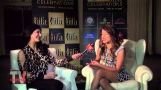 Priyanka Chopra interviewed by Reshma Dordi from Showbiz India Television about IIFA