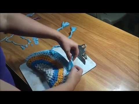 Como hacer un bolso de trapillo