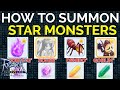 How to summon Star mobs to hunt Amethyst, Zircon, Topaz, in Ragnarok M