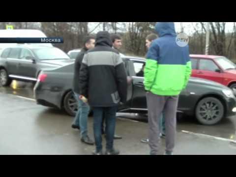 В Москве водители с автоматами успокоили обидчиков СтопХама