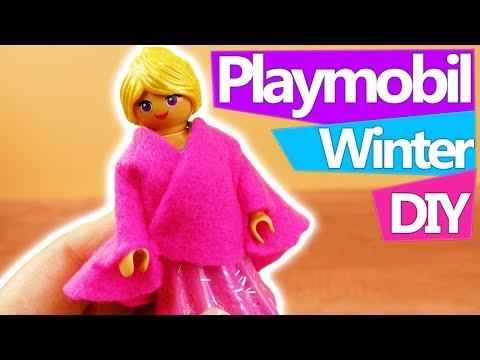 04 43 playmobil diy deutsch wintermantel fur stella pinke jacke ganz einfach selber machen