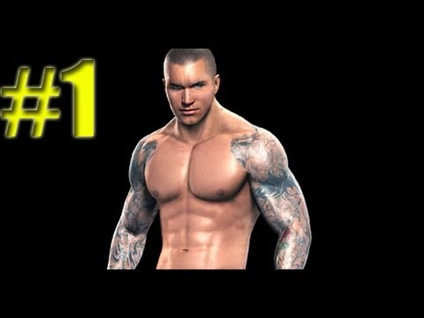 WWE Smackdown vs Raw 2010 RANDY ORTON PART 1 ROAD TO WRESTLEMANIA