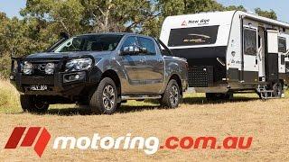 2017 Mazda BT 50 Tow Test   motoring.com.au