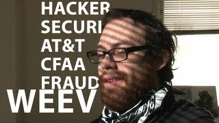 Andrew Auernheimer, aka Weev, shortly before his sentencing for violating the Computer Fraud and A