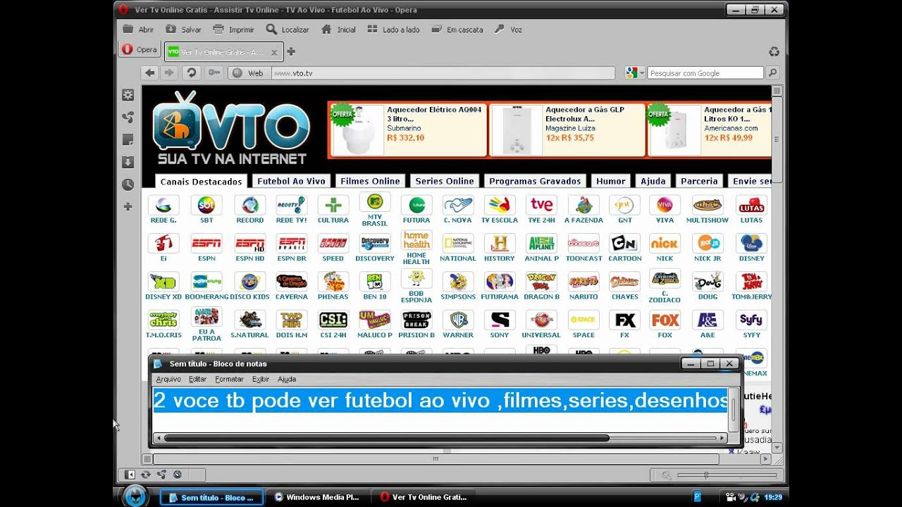 VER TV GRATIS PC