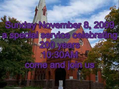 Memorial Presbyterian Church   200th Anniversary in Bellona Ny  invites anyone to attend