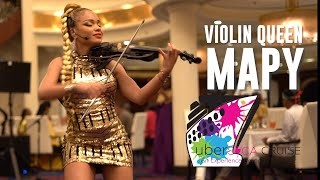 The Violin Queen Mapy | Ubersoca Cruise 2019