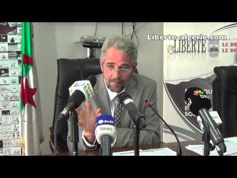 """Sid-Ahmed Ferroukhi au Forum de """"Liberté"""" (23 mars 2015)"""