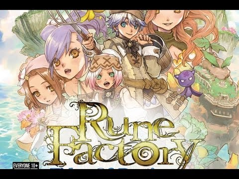 CGRundertow RUNE FACTORY: TIDES OF DESTINY for PlayStation 3 Video Game Review
