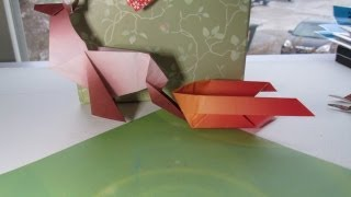 Sleigh 25 Days Of Origami Day 22