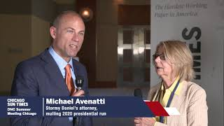 DNC: Michael Avenatti talks about his interest in the Democratic National Committee