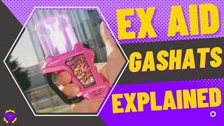 Kamen Rider Ex-Aid: Rider Gashats EXPLAINED