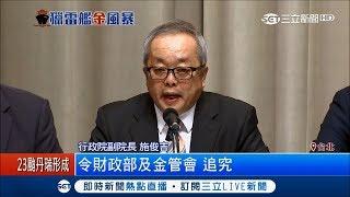 慶富案國防部列一銀10缺失 董座蔡慶年撤職