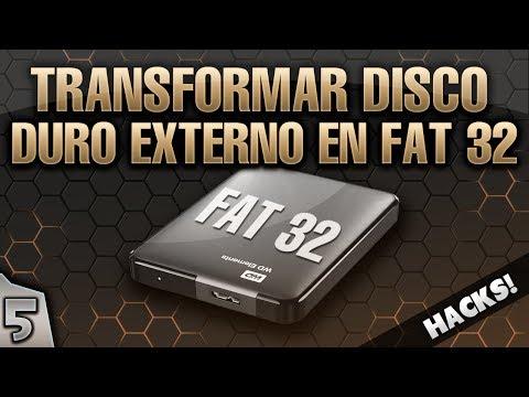 5- GUIA PS3 PIRATA: COMO FORMATEAR UN DISCO DURO EXTERNO EN FAT32