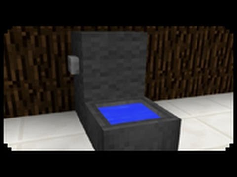 Minecraft How To Make A Toilet Youtube