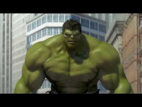 🙂Халк, Железный Человек и Человек-Паук берут на себя мехового гиганта! Мстители против цели 🙂