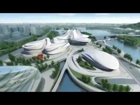 Zaha Hadid: Changsha Meixihu International Culture and Art Center