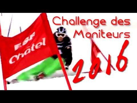 Le Challenge des Moniteurs 2016 est à Châtel...