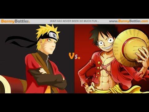 One Piece vs Naruto video especial