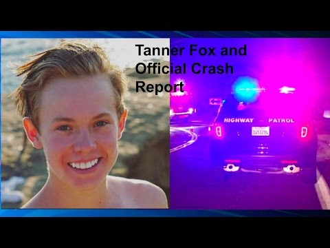 TANNER FOX AND OFFICIAL CRASH NEWS REPORT