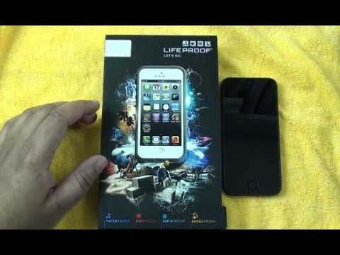 LifeProof Fre Case for iPhone 5 Hands On!
