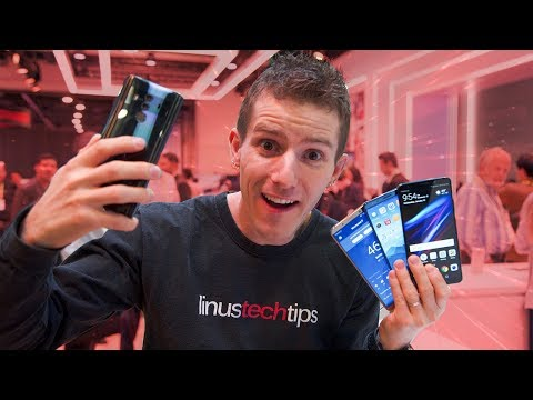 Huawei Mate 10 Pro Showcase - CES 2018