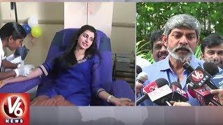 Jagapathi Babu, Upasana And Nara Brahmani Donates Blood At NTR Trust Bhavan | Hyderabad