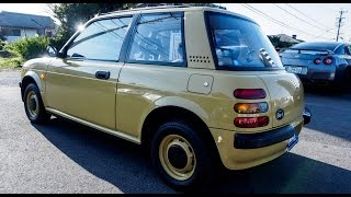 Walk Around/Test Drive - 1987 Nissan BE-1 - Japanese JDM Car Auctions