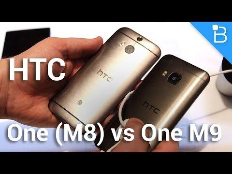 HTC One M9 vs One M8