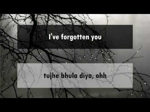 Tujhe Bhula Diya - Anjaana Anjaani [hindi lyrics - english translation]