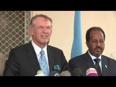 UN deputy Arrives Somalia 2013