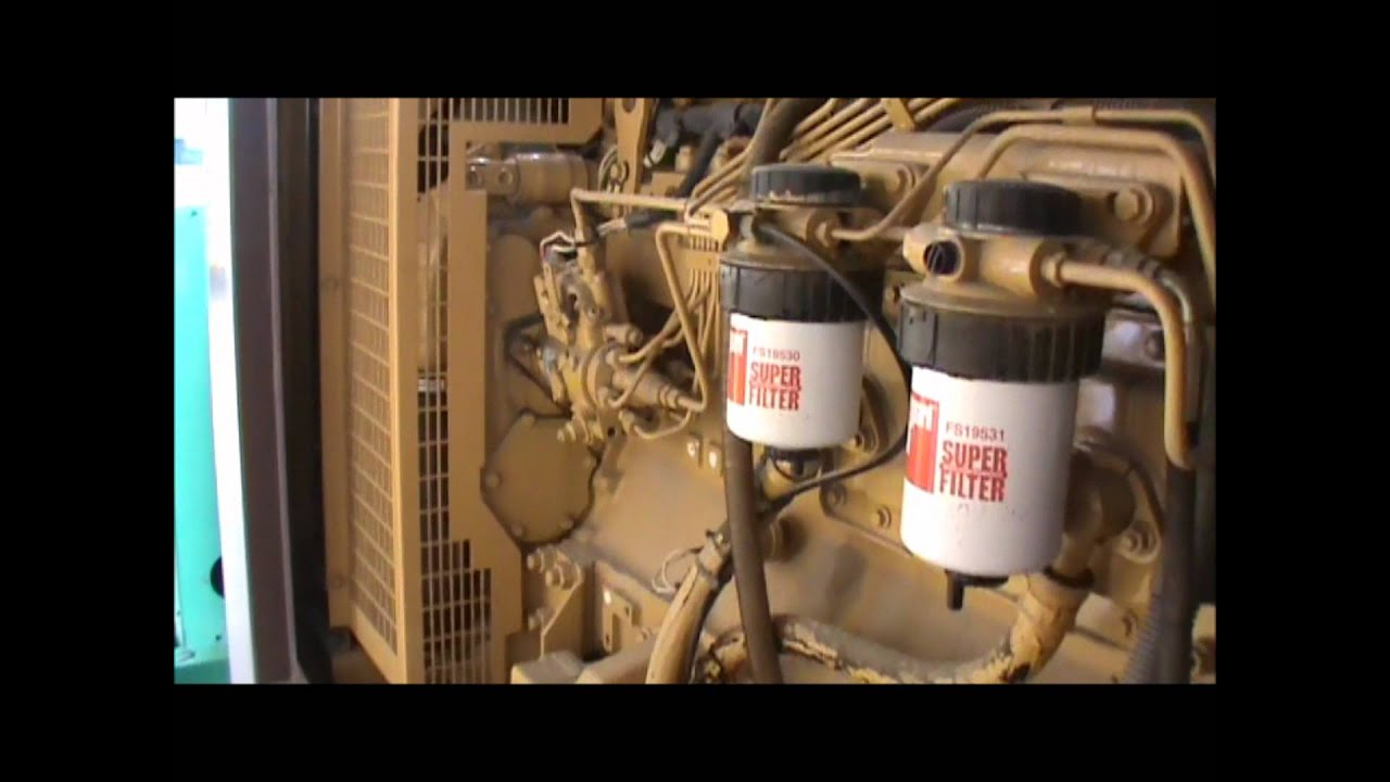 Olympian D100p1 100kw 208v Enclosed W Ul142 Fuel Tank