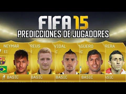 FIFA 15 Predicciones de Jugadores Neymar Reus Aguero Vidal Hector Herrera