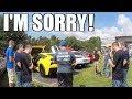 Honda Civic REVS at a Car Show... So I Did This. LOL -