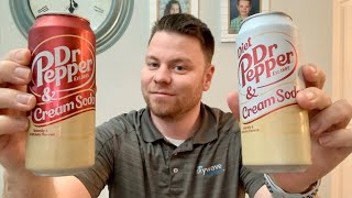 Dr. Pepper And Cream Soda and Diet Dr Pepper and Cream Soda Drink Reviews