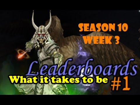 Diablo 3 Discussion - What it takes to be #1 on the leaderboards