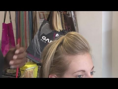 How To Style A Bump In Your Hair YouTube
