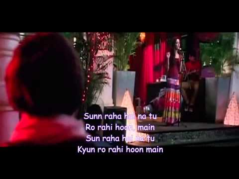 Karaoke sun Raha Hai Na Tu ( Female Version) video