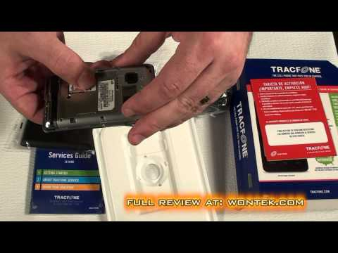 Tracfone LG840G Unboxing