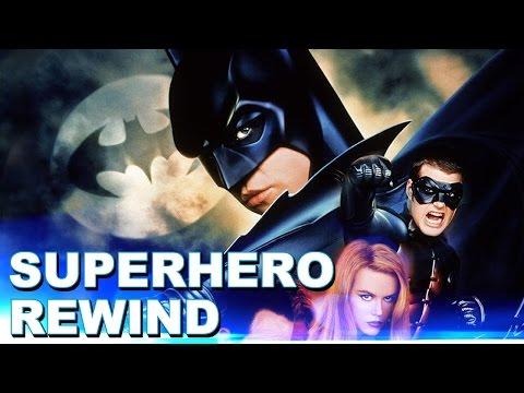 Superhero Rewind: Batman Forever Review Part 1