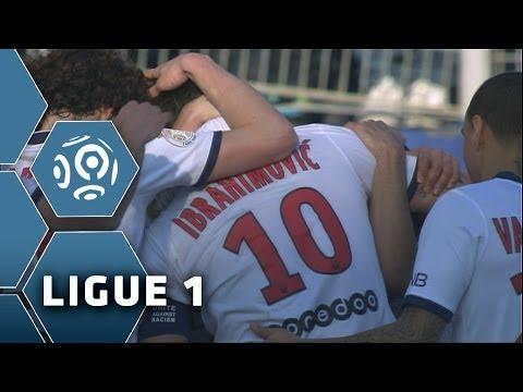 La passe décisive KUNG-FU d'Ibrahimovic - Bastia - PSG (0-3) - 2013/2014