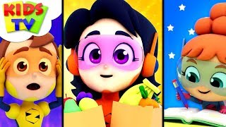 In A Minute | The Supremes Cartoons | Kindergarten Videos For Children - Kids Tv