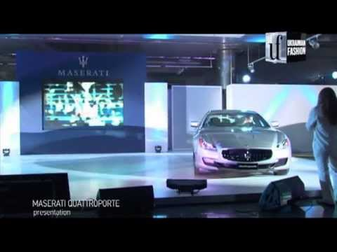 Презентация нового автомобиля Maserati Quattroporte