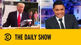 Trump Denies Quid Pro Quo After Explosive Testimony | The Daily Show With Trevor Noah