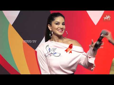 Gorgeous Sunny Leone | Smita Thackeray Host Freedom Parade At Mukti Foundation 2018 | YOYO TV Hindi